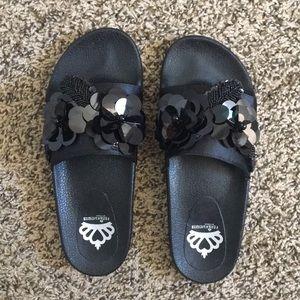Fergie Flame Slide Sandal